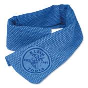 Klein Tools Cooling Towel, Blue, 1/EA, #60090