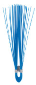 Presco Marking Whiskers, 6 in Height, Orange Glo, 1000/BOX, #W6OG
