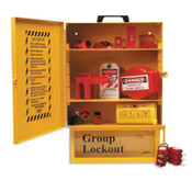 Brady COMBO LO & LOCK BOX STATION,W/SAF LOCKS, 1/KT, #99709