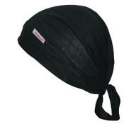 Comeaux Caps Single Sided Caps, One Size Fits Most, Black, 12/PK, #1000EBL