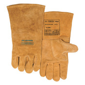 Best Welds Premium Leather Welding Gloves, Leather, Small, Buck Tan, 1/PR, #102000S