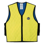 Ergodyne Chill-Its 6665 Evaporative Cooling Vests, Medium, Lime, 1/EA, #12533