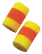3M E-A-R Classic SuperFit 30 Foam Earplugs 312-4201, Red/Yellow, Uncorded, 200/BOX, #7000002333
