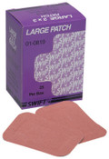 Honeywell Heavy Woven Adhesive Bandages, Beige Fabric Patch, 1/BX, #10819