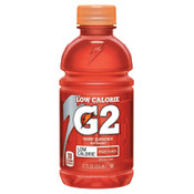 Gatorade G2 Low Calorie Thirst Quencher, Fruit Punch, 12 oz, Bottle, 24/CA, #12202