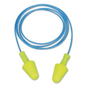 3M E-A-R Flexible Fit Corded Earplug 328-1001, ANSI, Foam, Yellow, 100/CT, #7100212746