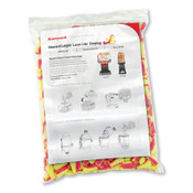 Honeywell Earplug Dispenser Refill, Foam, Magenta/Yellow, Uncorded, 1/CA, #LLLS4REFILL