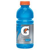 Gatorade Thirst Quencher, Fierce Blue Cherry, 20 oz, Bottle, 24/CA, #10412