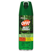Diversey Deep Woods Insect Repellent, 6 oz Aerosol, 12/CT, #SJN611081