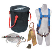 Capital Safety Compliance in a Can Roofer's Fall Protection Kits, Hook, O-Ring, 1/EA, #2199814