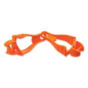 Ergodyne Squids 3400 Grabber-Dual Clip, Hi-Viz Orange, 1/EA, #19118