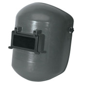 Honeywell Superglas Fiberglass Welding Helmet, Lift Front, 4001 Mtg Cups, Curved Bottom, 1/EA, #4706