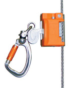 Honeywell Vi-Go Automatic Pass-through Cable Sleeves with Carabiner; Integral Swivel, 1/EA, #VGCSSC