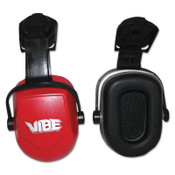 Kimberly-Clark Professional H70 VIBE Earmuffs, 25 dB NRR, Red, Cap Attached, 1/EA, #20777