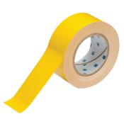 Brady ToughStripe Floor Marking Tape, 2 in x 100 ft, Yellow, 1/RL, #104312