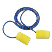 3M E-A-R Classic Foam Earplugs 310-1080, Corded, 100/BX, #7010315057