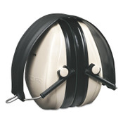 3M Optime 95 Earmuffs, 21 dB NRR, White/Black, Over the head, 1/PR, #7000002328