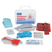 Honeywell Bloodborne Pathogen Response Kits, Personal Protection, Plastic, 24 Unit, 1/EA, #0197400027L
