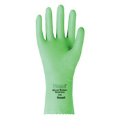 Ansell Omni Gloves, Embossed, Size 8, Flocked Lining, Mint Green, 12 Pair, #102990