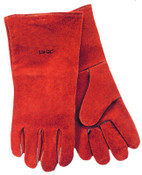 Anchor Products Quality Welding Gloves, Split Cowhide, Large, Blue, Leather Cuff, Right Hand, 12/PK, #B20GCRHO