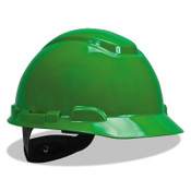 3M Ratchet Hard Hats, Ratchet, Cap, Green, 20/CA, #7000030062