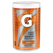 Gatorade Powder Packets, Orange, 1.34 oz, Packet, 1/CA, #13165