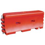 "TrafFix Devices, Inc. Water Walls,  6'L x 32""H x 18""W, LDPE, Orange, 1/EA, #45032O"