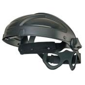 Honeywell Turboshield Ratchet Headgear, Uvex, Black, 1/EA, #S9500