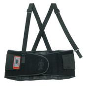 Ergodyne ProFlex 100 Economy Back Supports, 2X-Large, Black, 6/CA, #11386