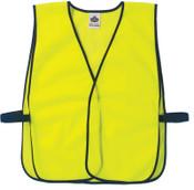 Ergodyne GloWear Non-Certified Vests,  8010HL, One Size, Lime, 1/EA, #20020