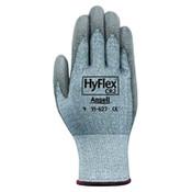 Ansell HyFlex 11-627 Dyneema/Lycra Work Gloves, Size 10, Gray, 12 Pair, #103392