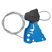 Brady Cable Lockout Devices, Blue, 1/EA, #45191