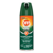 Diversey OFF! Deep Woods Insect Repellents, 6 oz Aerosol, 12/CT, #SJN629374