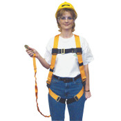 Honeywell Titan Harness/Shock-Absorbing Lanyard Combos, Full Body Harness, 6 ft. Lanyard, 1/EA, #TK4051Z7U6FTAK