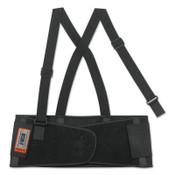 Ergodyne ProFlex 1650 Economy Elastic Back Supports, Large, Black, 1/EA, #11094