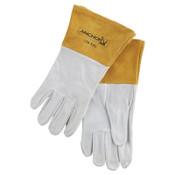 Best Welds 110-TIG Capeskin Welding Gloves, Medium, White, 1/PR, #110TIGM