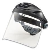 Jackson Safety F400XP W/370 HDGR W/29087 CLR WINDOW  POLYBG/HDR, 4/CA, #14262