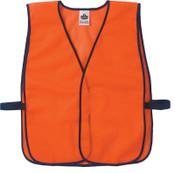 Ergodyne GloWear Non-Certified Vests, 8010HL, One Size, Orange, 24/CA, #20010