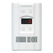 Kidde Direct Plug & Battery Operated CO Alarms, LED Display, Electrochemical, 1/EA, #900011302