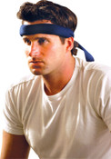 OccuNomix MiraCool Headbands, Blue Denim, 1/EA, #954BDN
