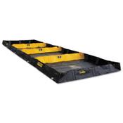 Justrite Decon Quickberm, Black, 598 gal, 20 ft x 6 ft, 1/EA, #28574