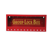 Brady METAL WALL LOCK BOX, LARGE, 1/EA, #105715