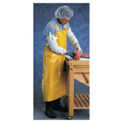 Ansell CPP Supported Neoprene Apron, 35 in x 45 in, Yellow, 12/CA, #105244