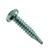 "#10-16x1"" F/T Phillips Pan Head, #3 Point Self Drilling Screws Zinc Cr+3 (100/Pkg.)"