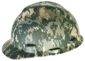 MSA Freedom Series Helmets, Fas-Trac Ratchet, Cap, Camouflage, 1/EA, #10103908