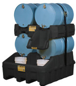 Justrite DRUM MGMT STACKER ECO, 1/EA, #28669