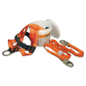 Honeywell Titan II ReadyWorker Fall Protection Kits, Mating Leg Strap Buckles, 1/EA, #TFPK1U6FTAK