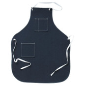 Ansell CPP Shop Aprons, 28 in X 36 in, Denim, Blue, 1/EA, #105266
