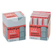 Honeywell Adhesive Bandages, 1 in x 3 in Strips, Fabric, 1/BX, #16459