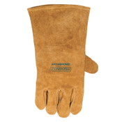 Best Welds Premium Leather Welding Gloves, Leather, Large Right Hand, Buck Tan, 1/PR, #102000RH